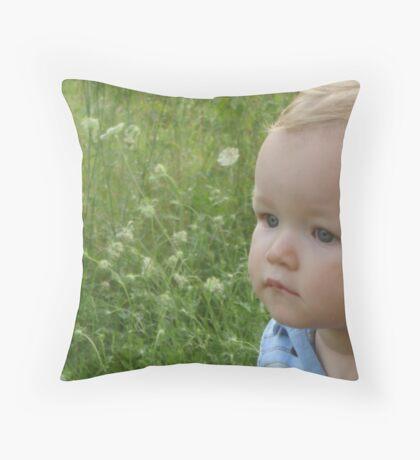 Summer Baby Throw Pillow