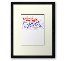 AZ Wildcat SPIRIT Framed Print