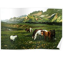 The Wu Shan Fairy Series Wild Horses Poster