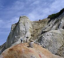 rock art and cliffs at MV by ouellettep