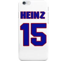 National baseball player Heinz Becker jersey 15 iPhone Case/Skin