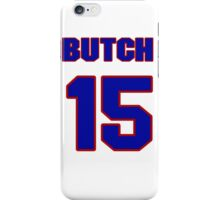 National baseball player Butch Benton jersey 15 iPhone Case/Skin