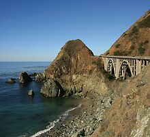 Bixby Creek Arch Bridge  •  Big Sur, California by Richard  Leon