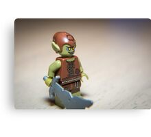 Goblin with Sword Canvas Print