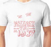 Matthew Broderick Unisex T-Shirt