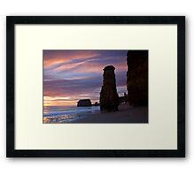 Needle Rock Framed Print