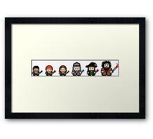 8 bit wizardry Framed Print