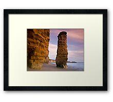 Needle Rock II Framed Print
