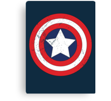 Captain America - Shield Canvas Print