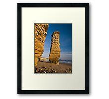 Needle Rock III Framed Print