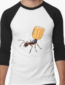 Shampoo Ant Men's Baseball ¾ T-Shirt