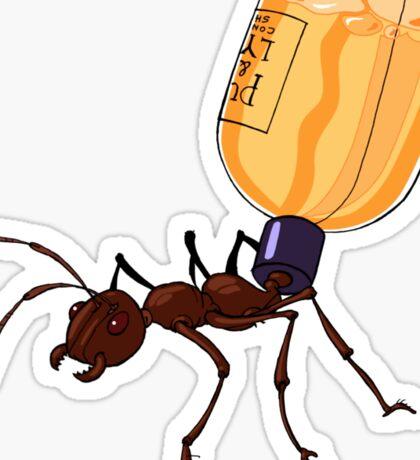 Shampoo Ant Sticker
