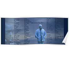 Lil Lonely Boy Blue Poster