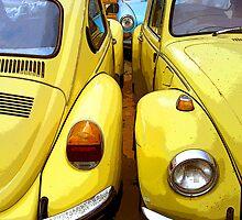 VW Beetle Twins by mistertof