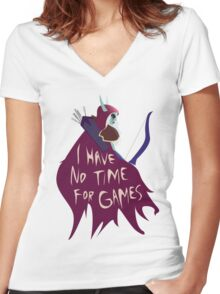 Hearthstone - Sylvanas Women's Fitted V-Neck T-Shirt