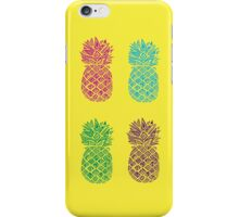 Four Pineapples  iPhone Case/Skin