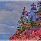 Bass Harbor Lighthouse by Mike Griffiths
