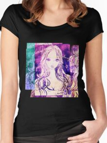 LILAS 2011-2015 portrait Women's Fitted Scoop T-Shirt