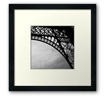 Eiffel Tower Framed Print