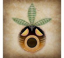 Legend of Zelda - Deku Mask Weathered Photographic Print