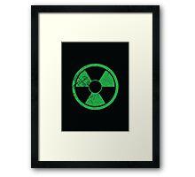 Hulk Mode Framed Print