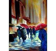 Urban Rainy day Photographic Print