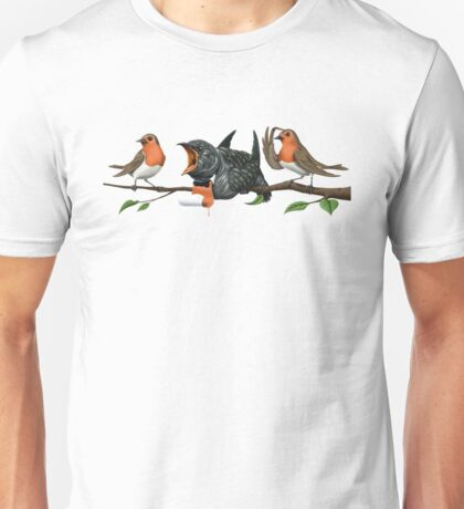 Cock Robin (wordless) Unisex T-Shirt
