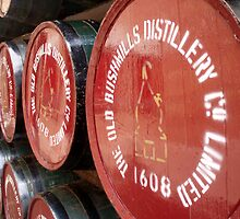 Bushmills Barrels by Paul Finnegan