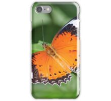 Plain Tiger Butterfly (Danaus chrysippus) iPhone Case/Skin