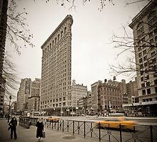 Flat Iron Building by Alan Copson