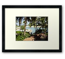 Is This Paradise Framed Print