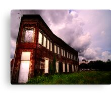 Union Hotel and Cafe  Canvas Print