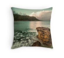 There may be green skies ahead Throw Pillow