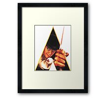 Clockwork Orange Stanley Kunrick Framed Print