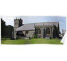 St Grwst's Church, Llanrwst,North Wales Poster