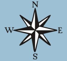 Compass Rose NOSW (two-color) T-Shirt