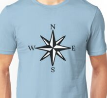 Compass Rose NOSW (two-color) Unisex T-Shirt