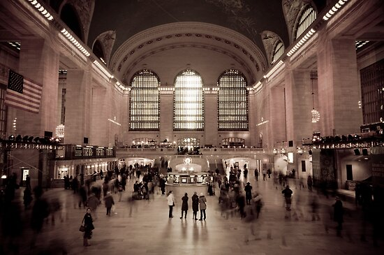 Grand Central Station. New York. by Alan Copson