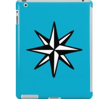 Compass Rose (Two-Color) iPad Case/Skin