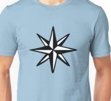 Compass Rose (Two-Color) Unisex T-Shirt
