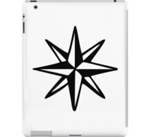 Compass Rose (Monochrome) iPad Case/Skin