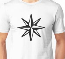 Compass Rose (Monochrome) Unisex T-Shirt
