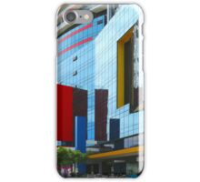 The colours red, blue and yellow iPhone Case/Skin
