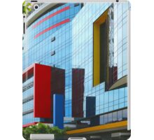 The colours red, blue and yellow iPad Case/Skin