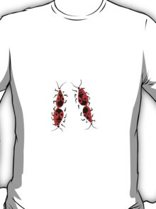 Red bugs T-Shirt