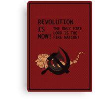 Flameo, Comrade! Canvas Print