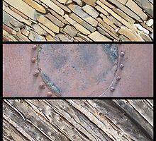 Stone, Rust, Wattle & Daub by Craig Watson