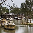 Echuca steam-paddle wharf by shaynetwright