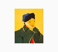 Self portrait with Bandaged Ear. After Vincent Van Gogh Unisex T-Shirt