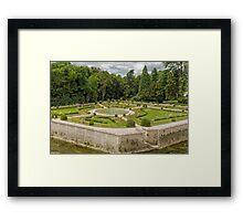 Garden of Diane de Poitiers, Chateau de Chenonceaux, Loire Valley, France #3 Framed Print